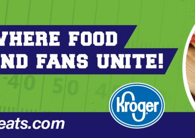 Integration - Kroger KDAL P8W4 OOH Game Day Greats 1504x416 post 9-30-17 to 10-1-17