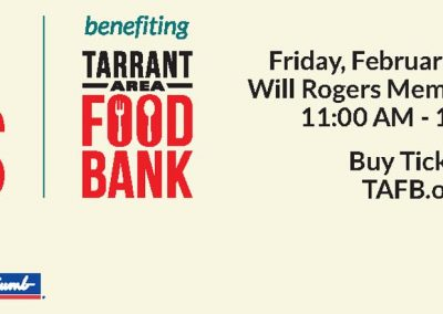 Tarrant County foodbank digital ad post 2-1 -2-20 on 84B 76A