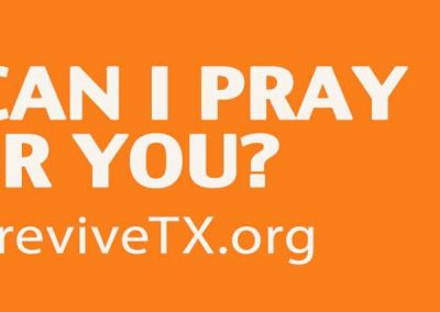 reviveTX Digital Billboard I Pray